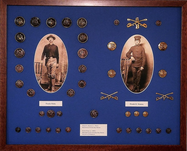 Picture Framing For Military Keepsakes