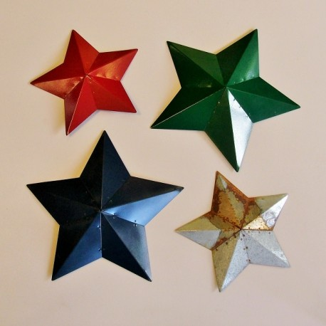 Metal Barn Star 1