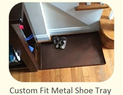 Custom Fit Metal Shoe Tray