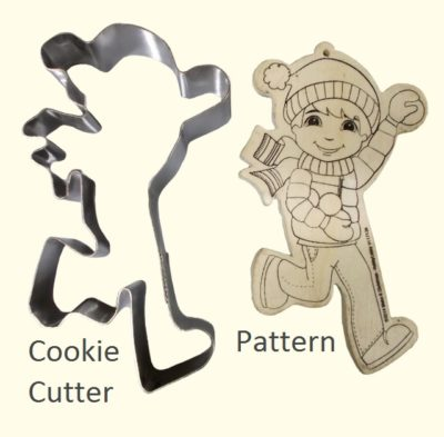 Hand Made Cookie Cutter Boy