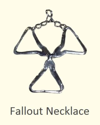 Custom Handmade Fallout Necklace