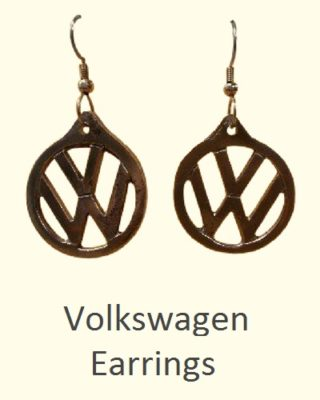 Volkswagen Earrings Custom Creations