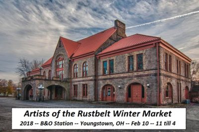 Artists of the Rustbelt Winter Market at the B&O Station