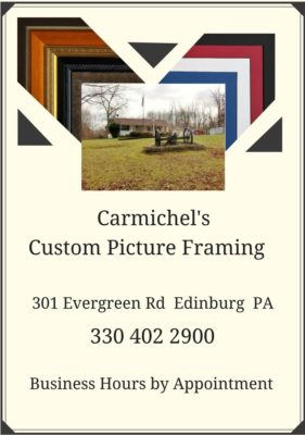 Custom Picture Framing Services Page